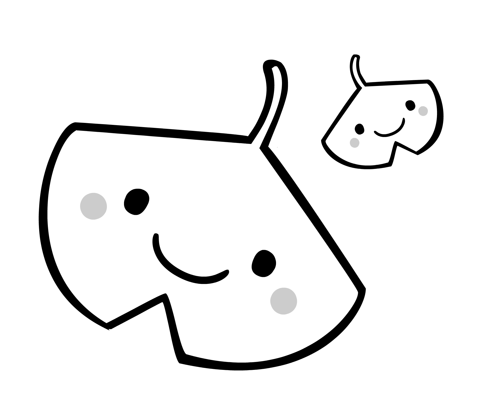 白黒イチョウ